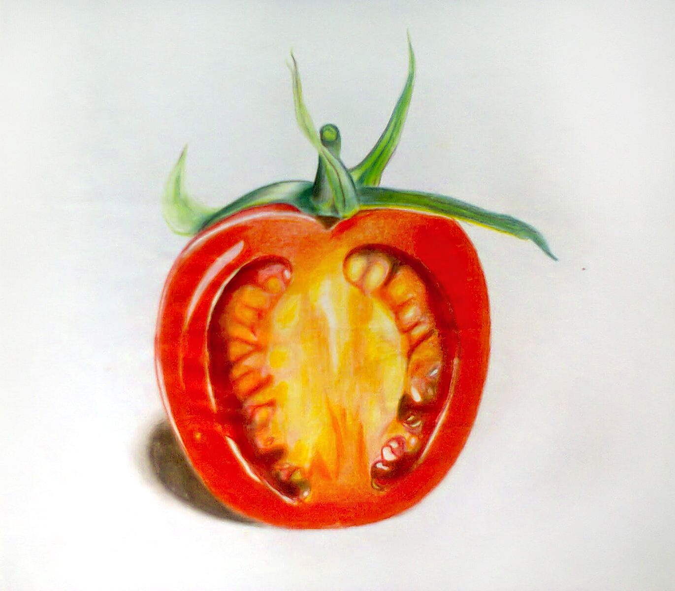 painted tomato