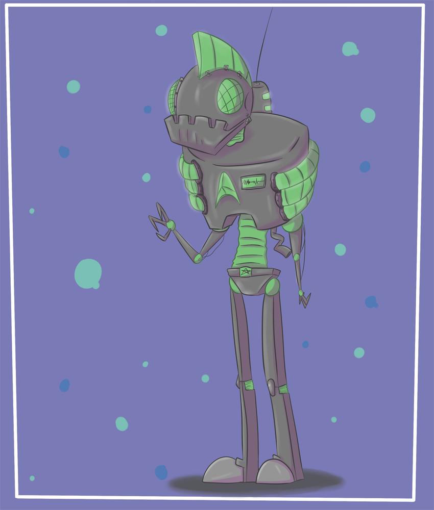 Da Robot Goes BEEP BOOP