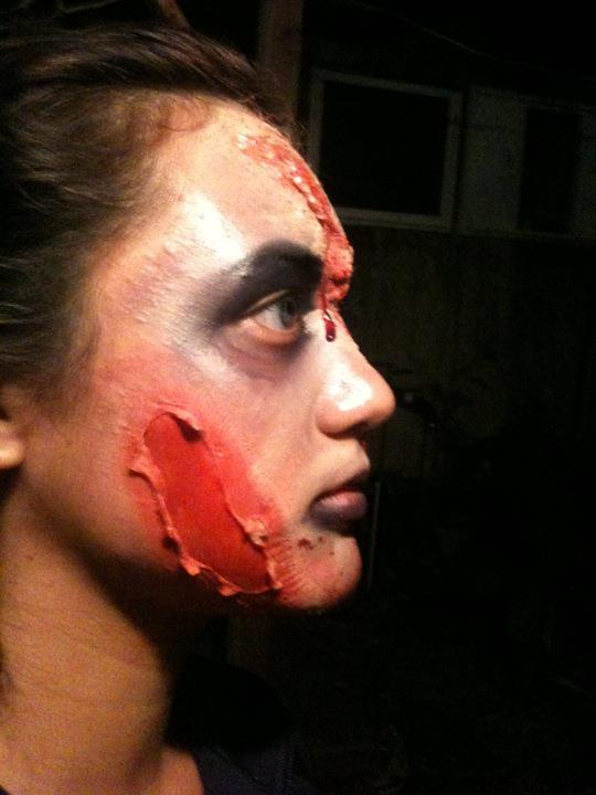 Make-Up Artistry - Zombie1