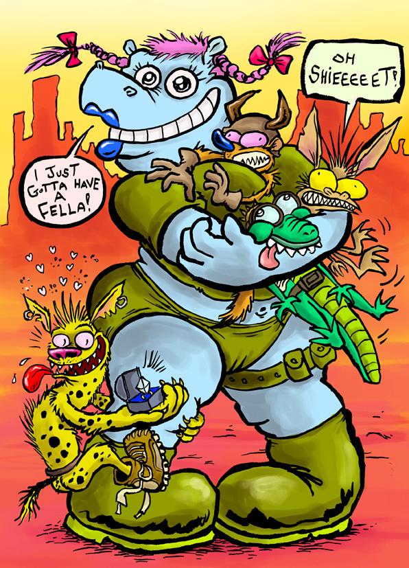 Hippo Hi-Jinks