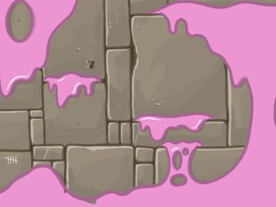 Castle Walls Background