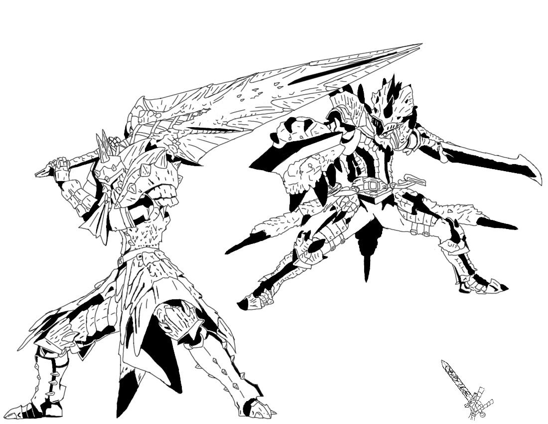 Monster Hunter Armors