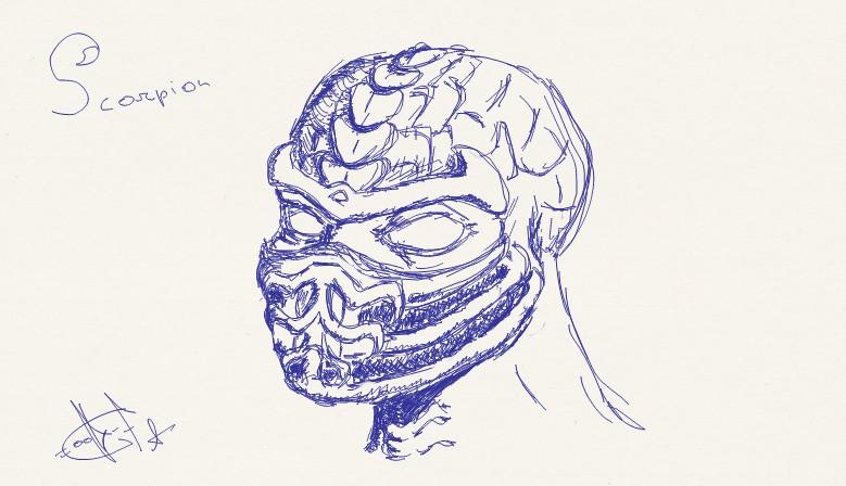 Scorpion Mask By Jabalclown On Newgrounds