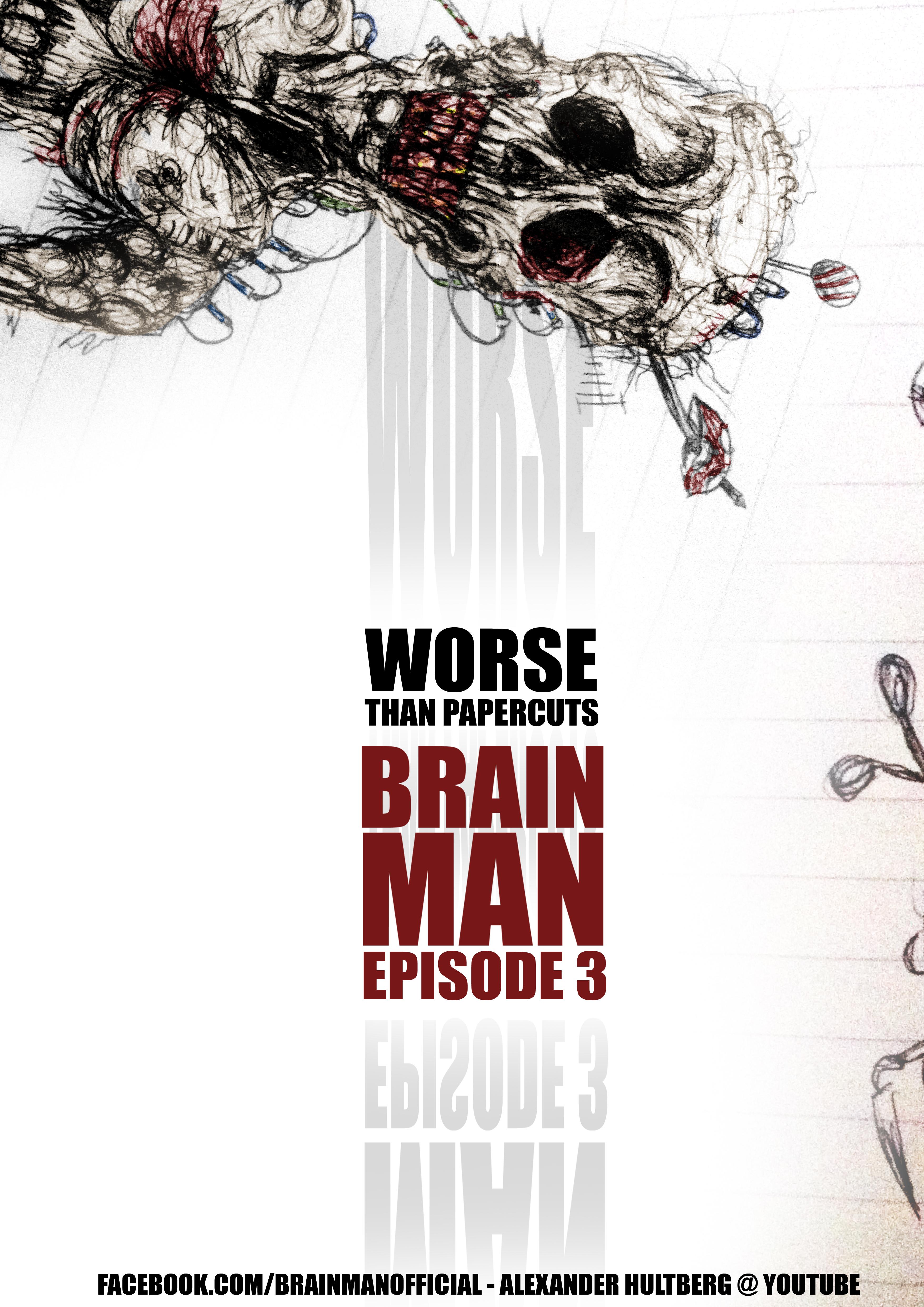 BRAIN MAN 3 Poster