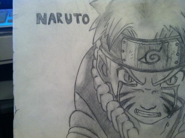 Naruto free-hand (1 hour)