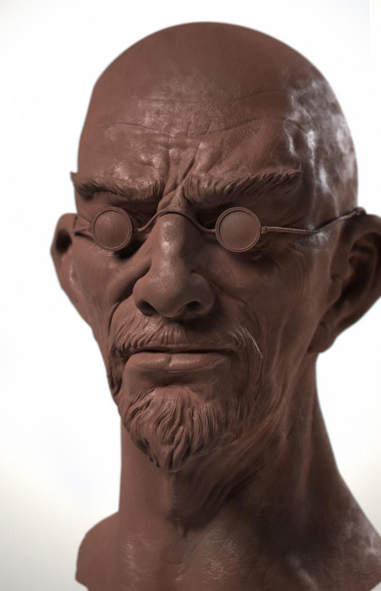 ClaySculpt Man