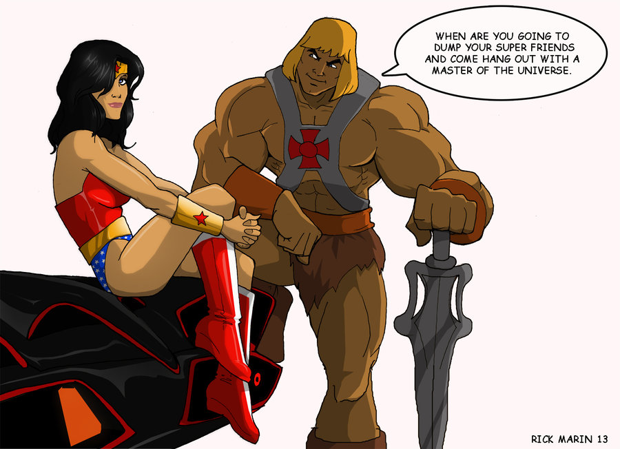 He-Man and Wonder Woman
