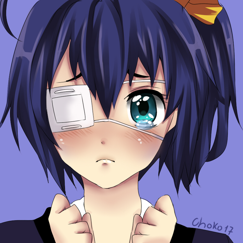 Rikka puppy eyes