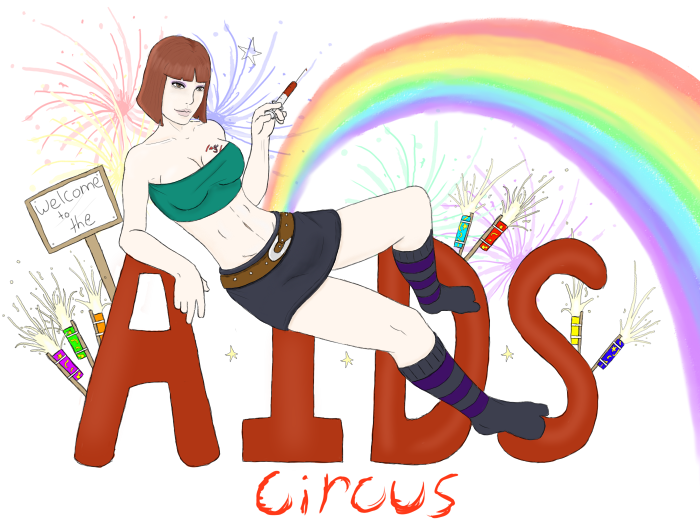 Welcome to the aids circus
