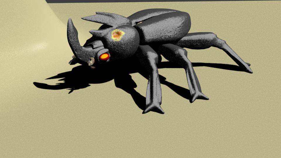 Mammoth beetle