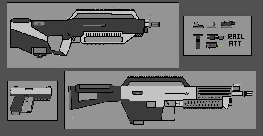 Microsoft Paint Weapon Designs