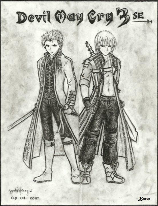 Dante x Vergil Mirror