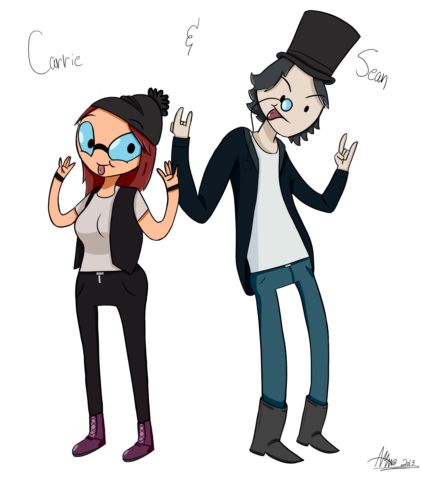 Commission: Carrie and Sean