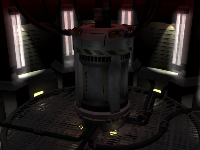 A Starship Reactor