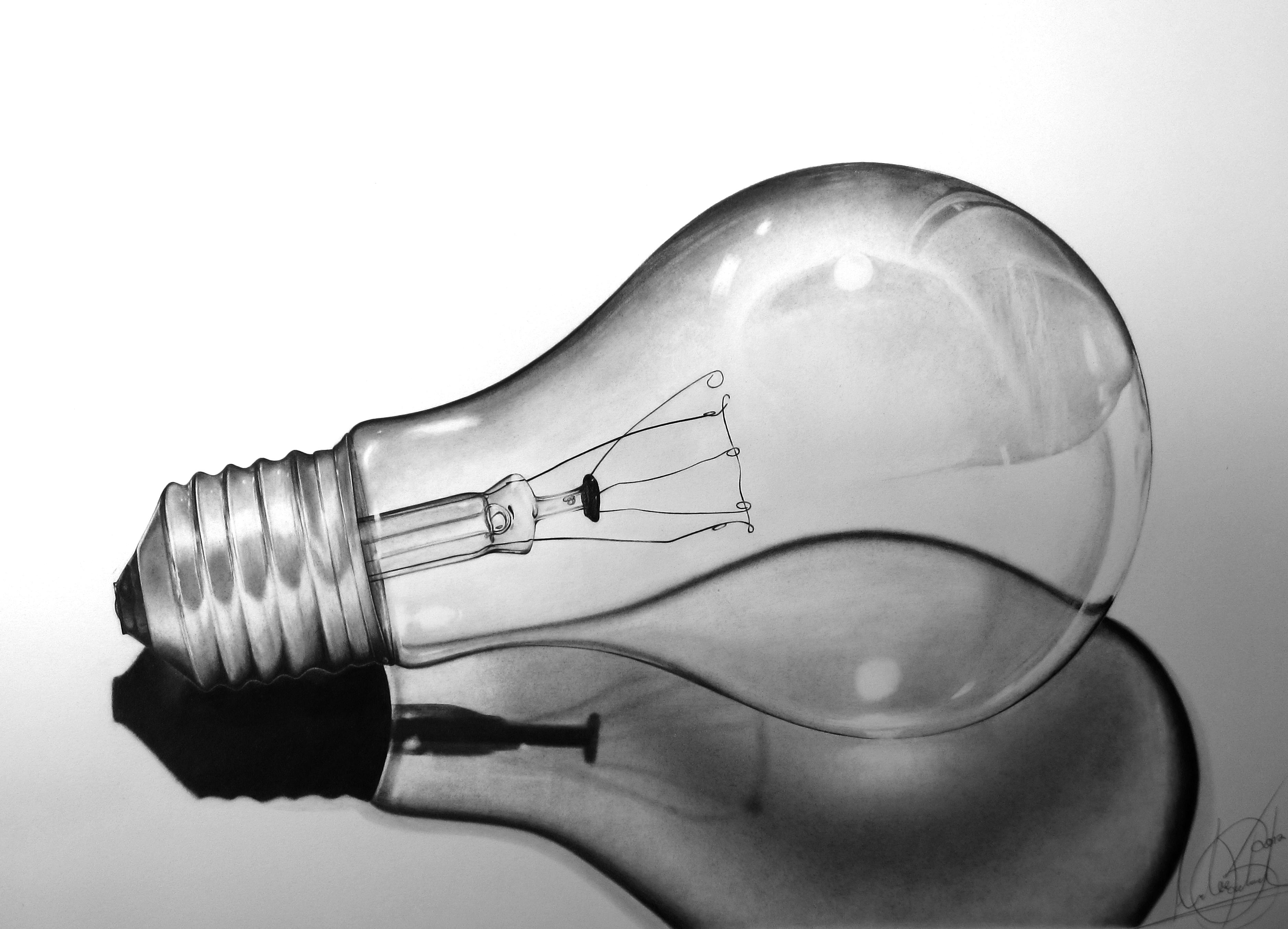 """Light Bulb """"still life"""""""