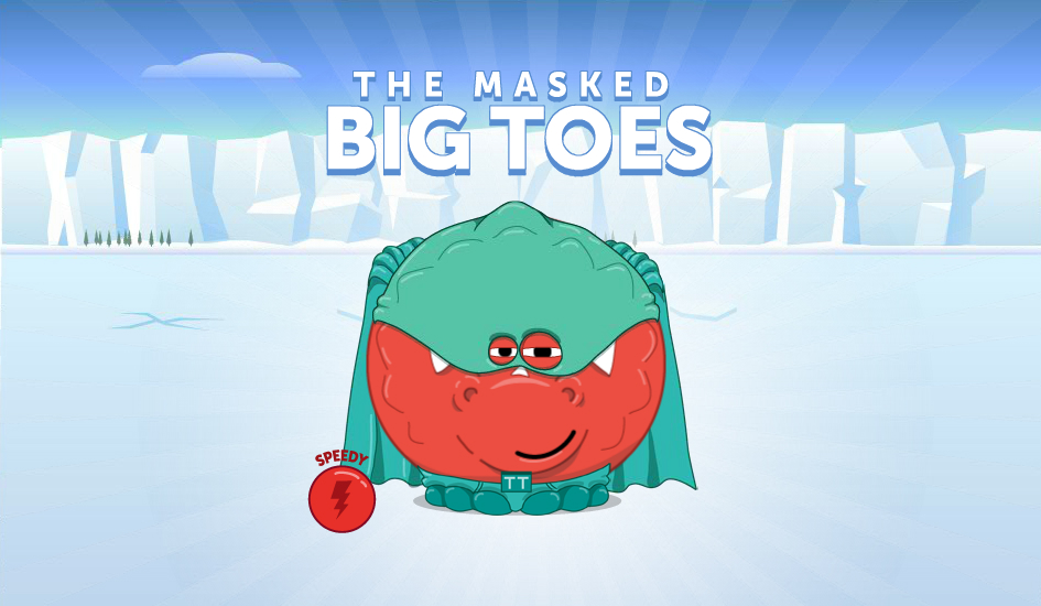 the masked big toes