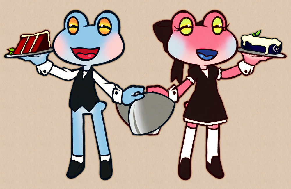 Frogs at your service!