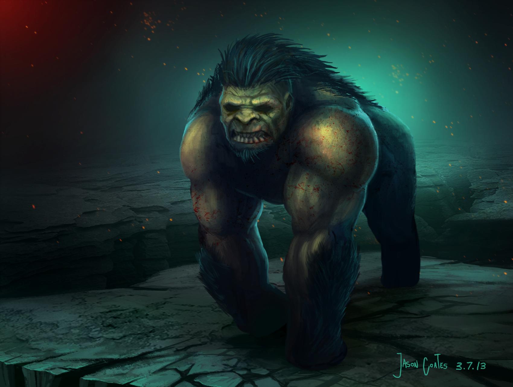 Mutant Gorilla Beast