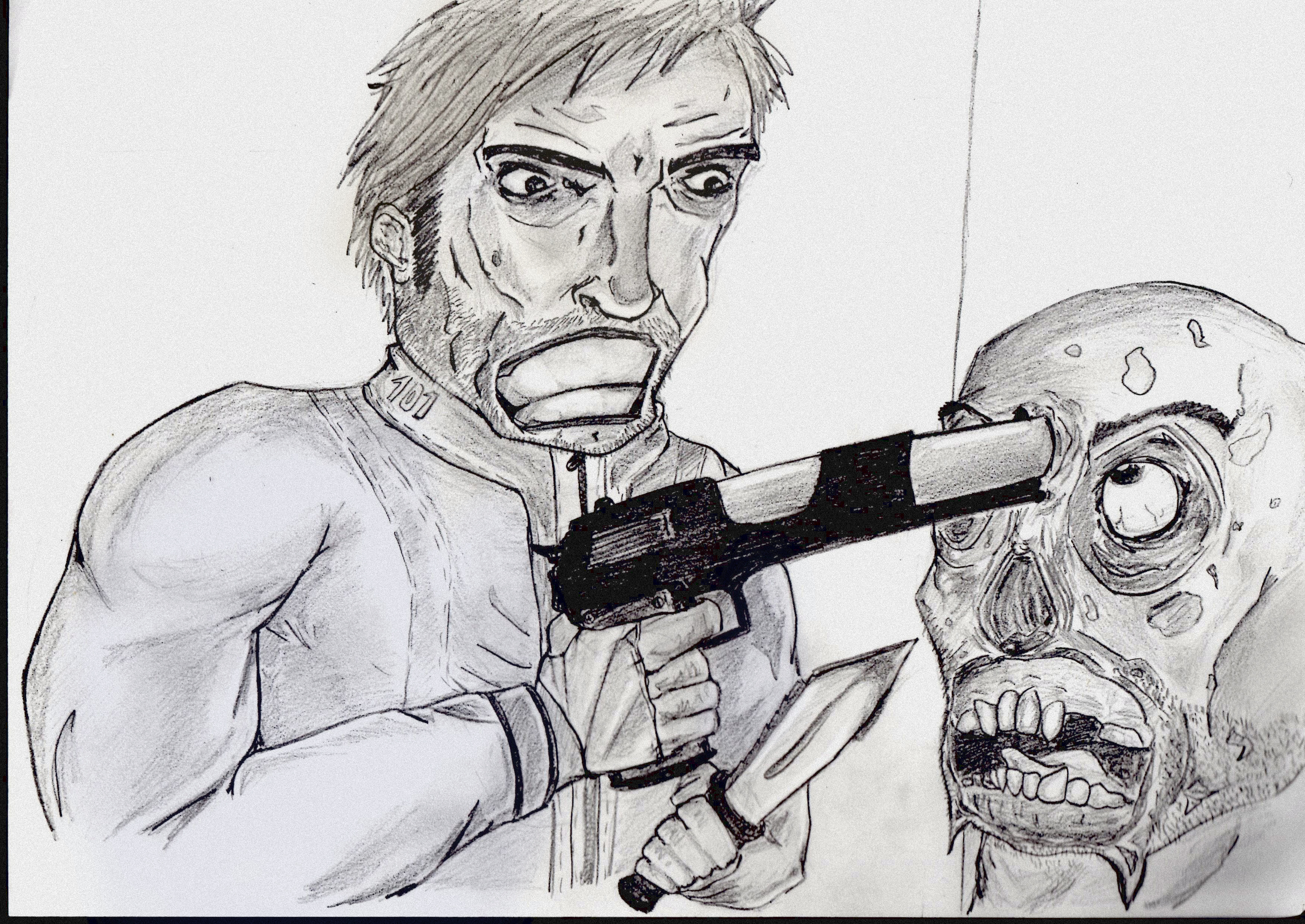 Fallout 3 Drawing To Jazza By Jpwalls On Newgrounds