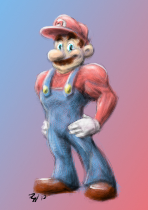 Supah Mario