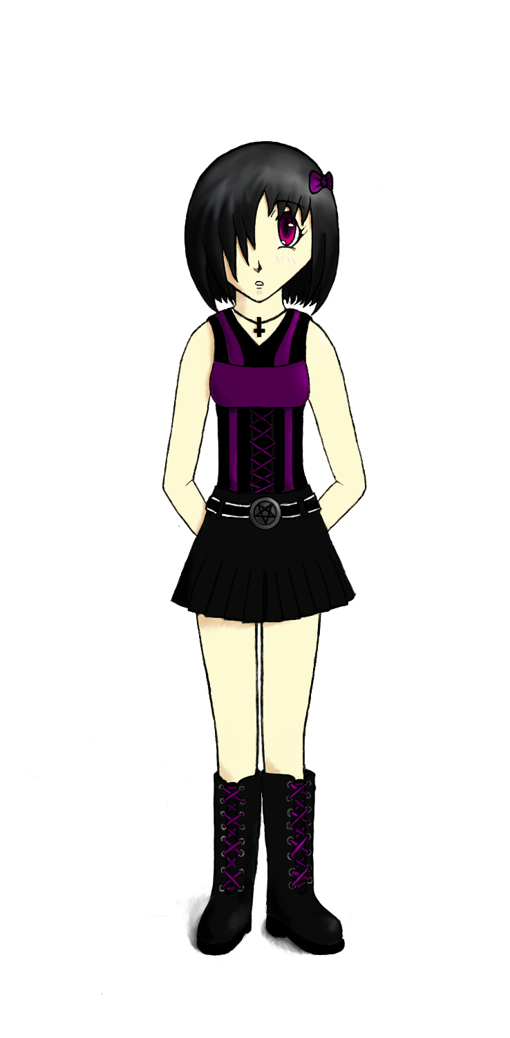 Goth Girl colored