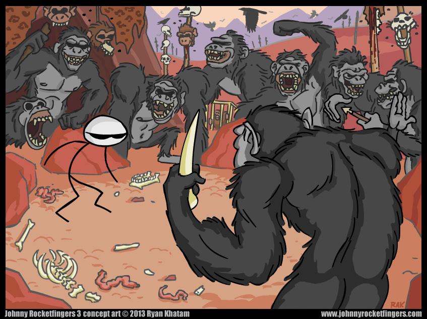 J. Rocketfingers 3: Monkeys