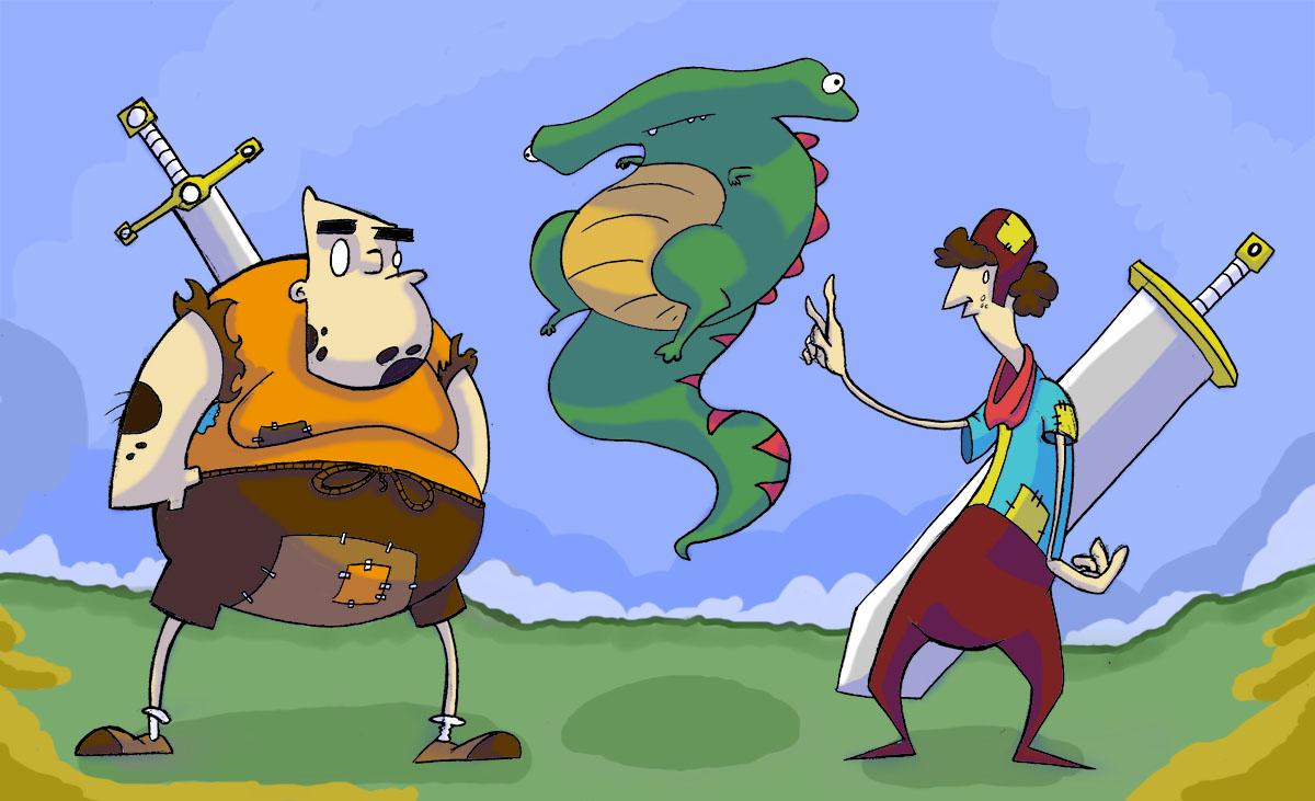 Nerdy Dragon Slayers