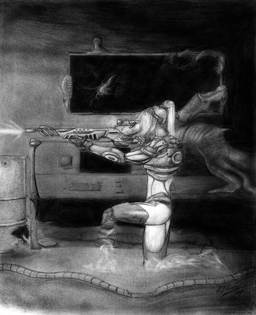 Starcraft Ghost: Fan Art