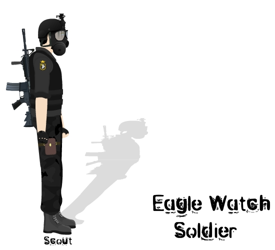 Eagle Watch Soldier-Scout