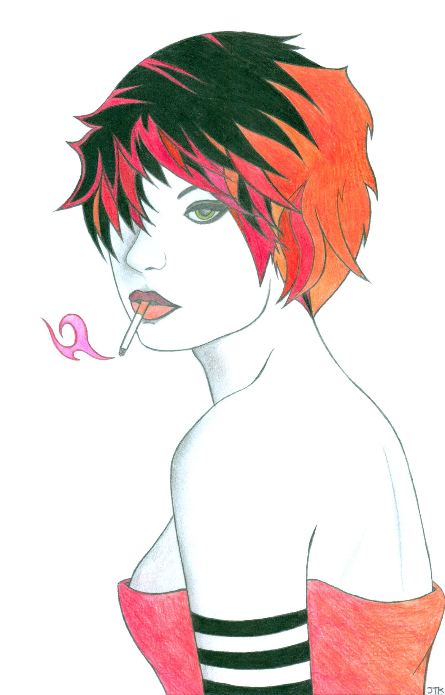 Cigarette Girl #5