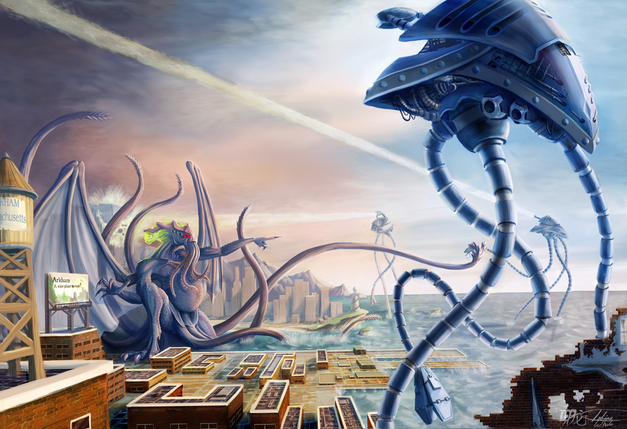 War of the Worlds Vs Cthulhu