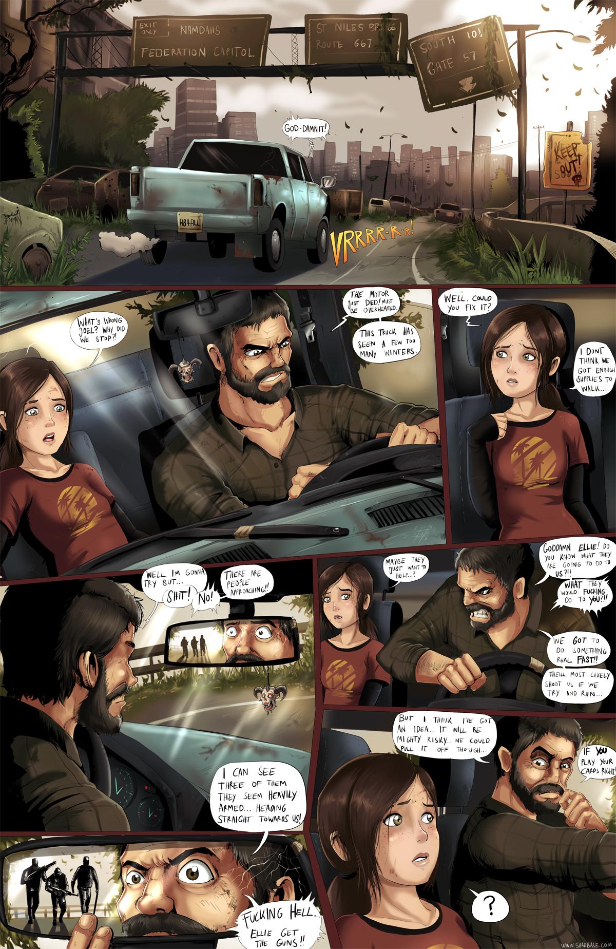 The Last Orifice: Page 1