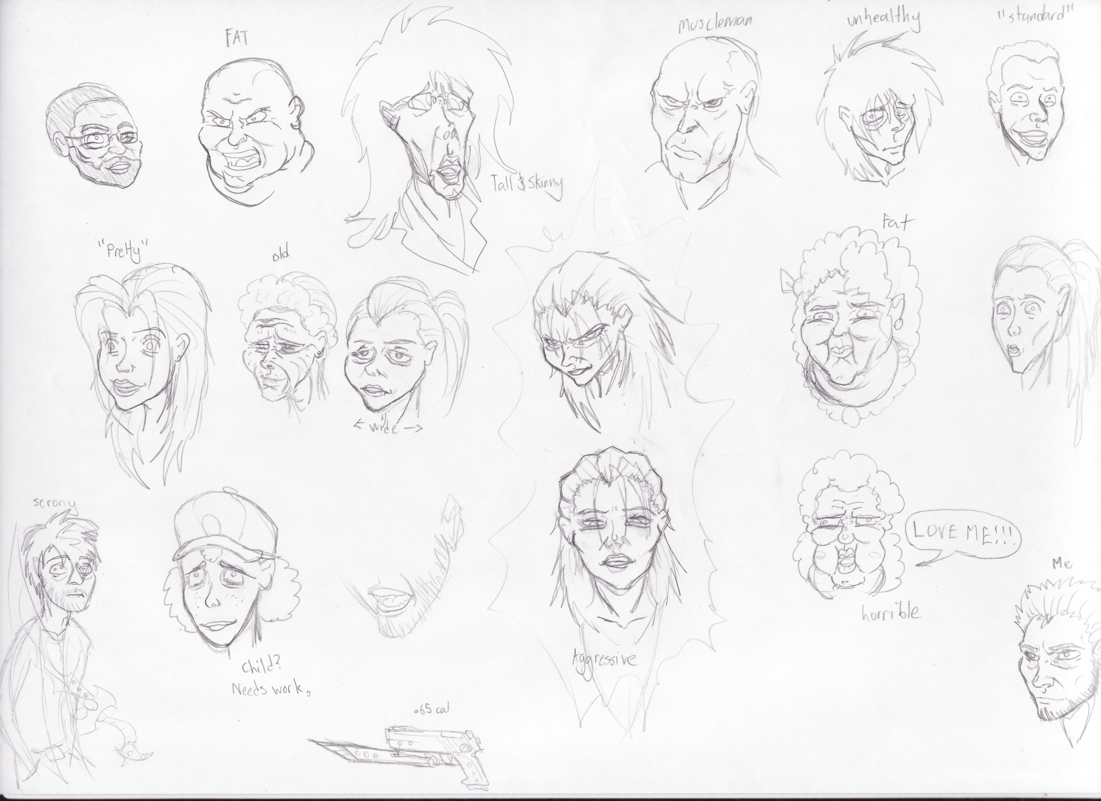 faces and stuff