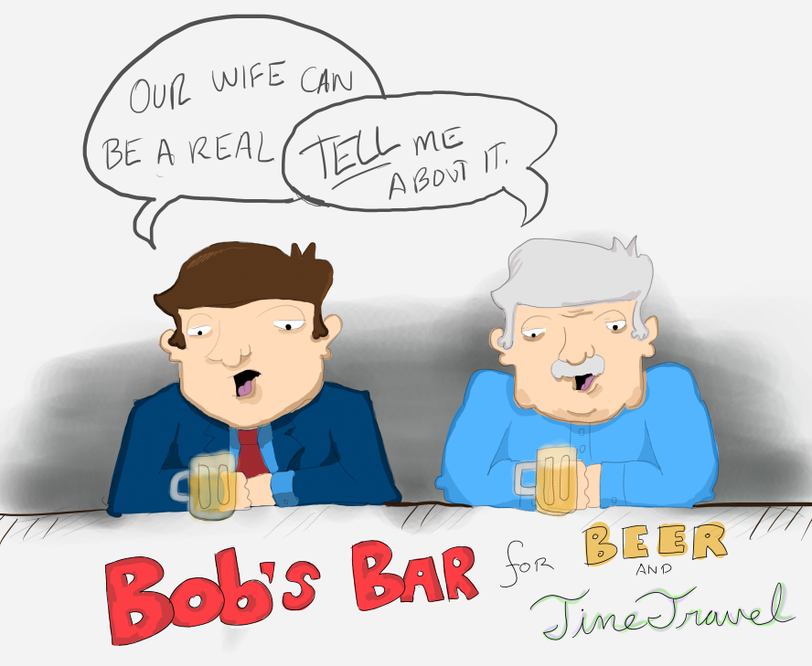 Bob's Bar for Time Travel