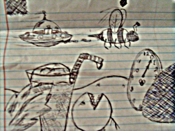 High School Sketches 3