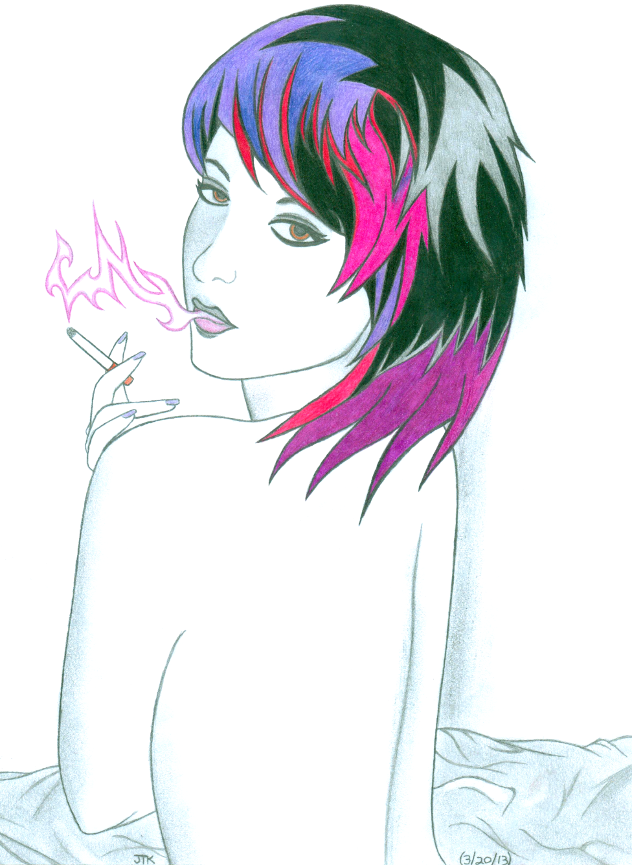 Cigarette Girl #6