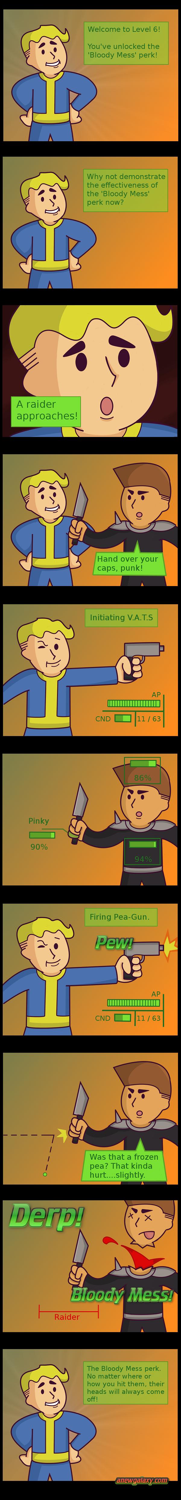 Fallout Parody: Bloody mess