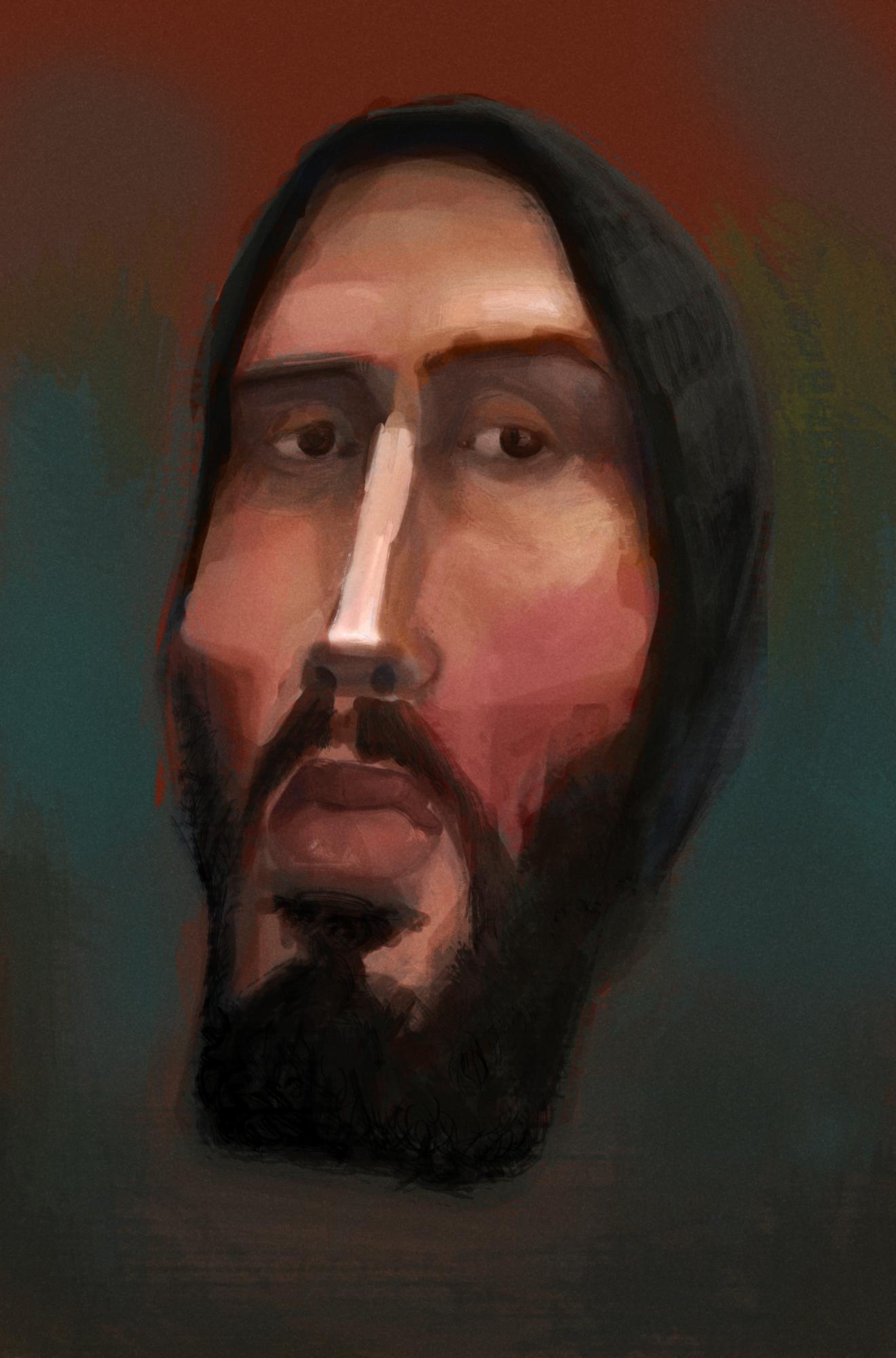 Self Portrait (caricature)