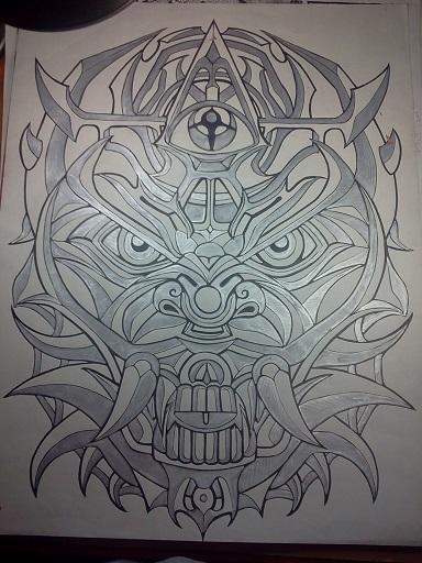 tri eyed demon