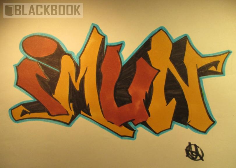 Graffiti Piece | Imun