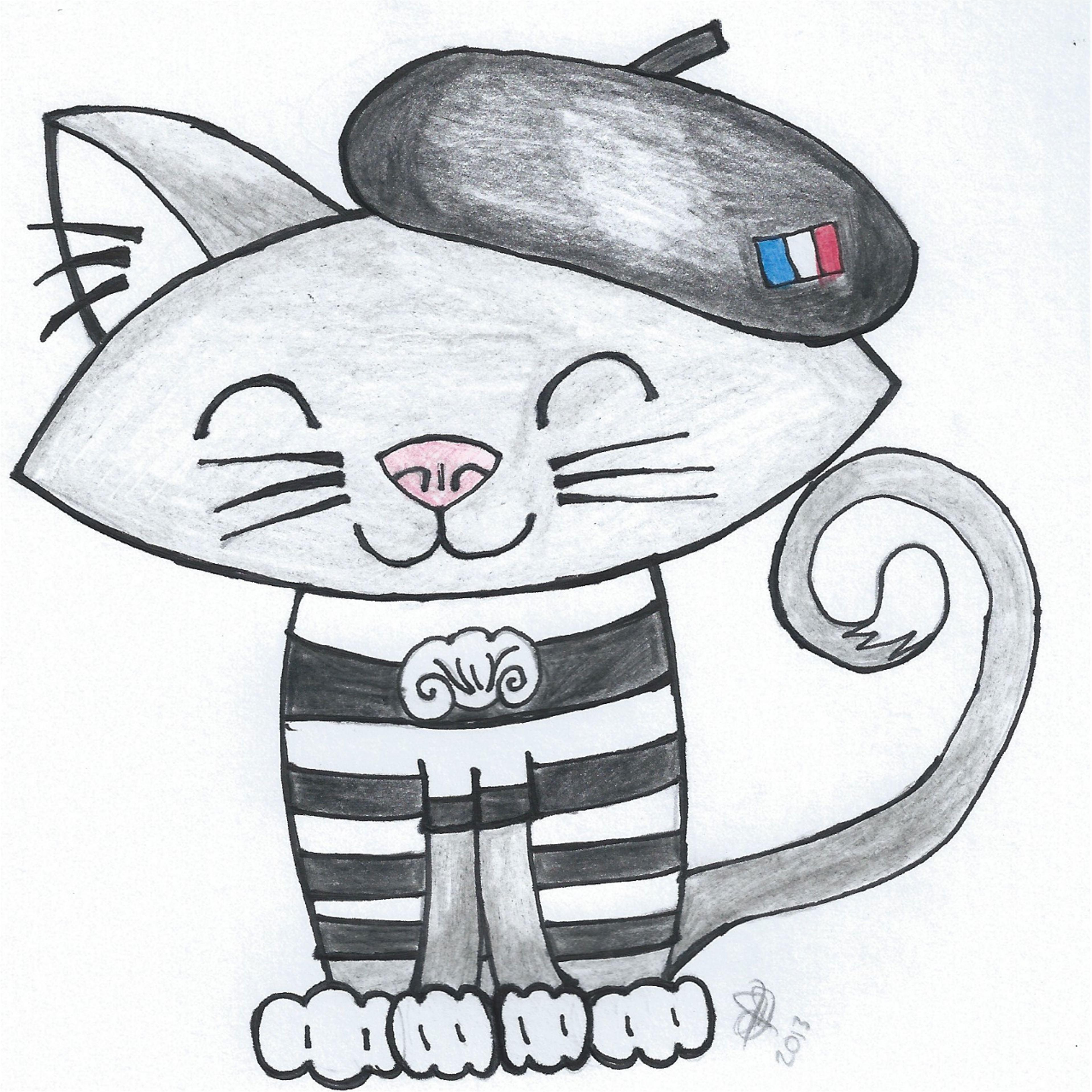 Noémi le chat français