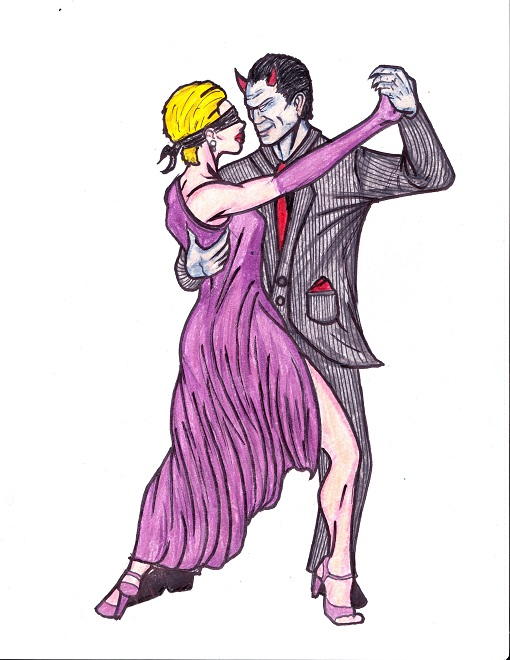 8.5x11 dance with the devil...