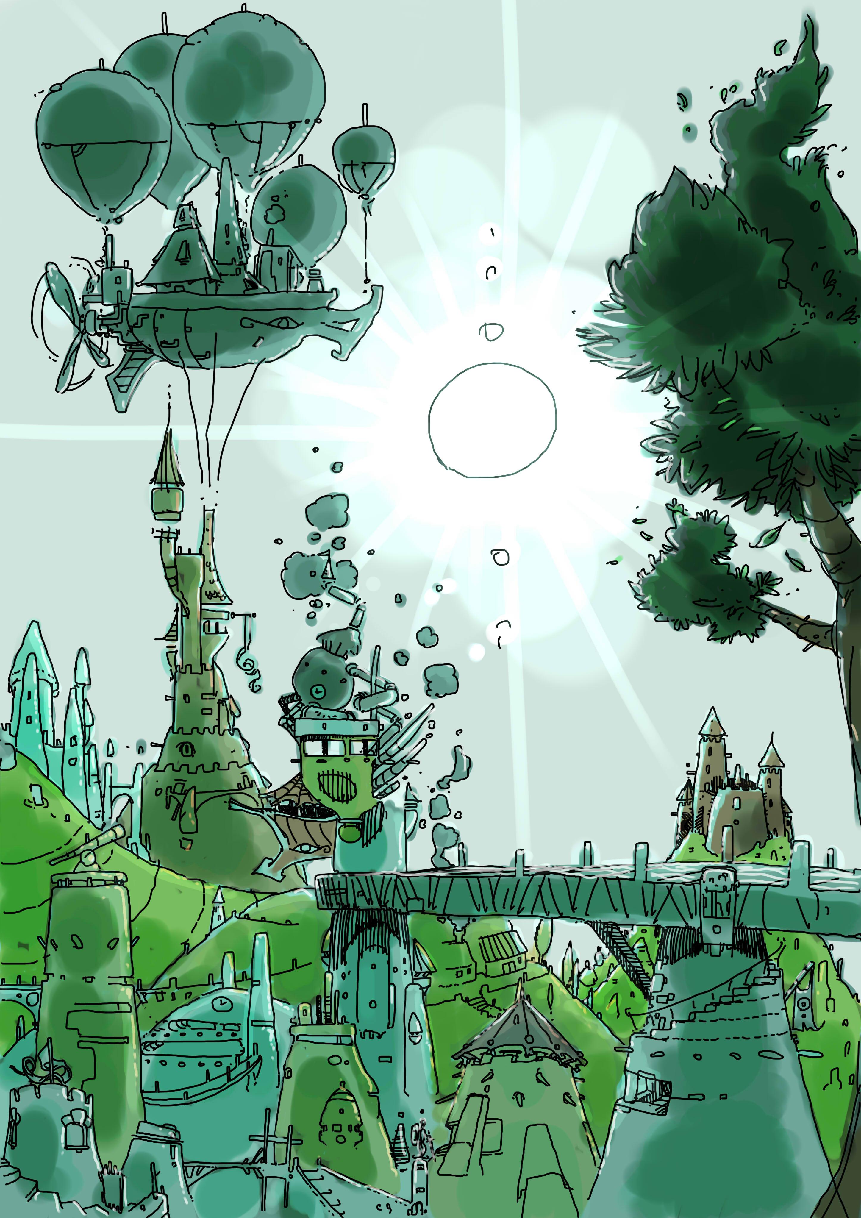 steam landscape