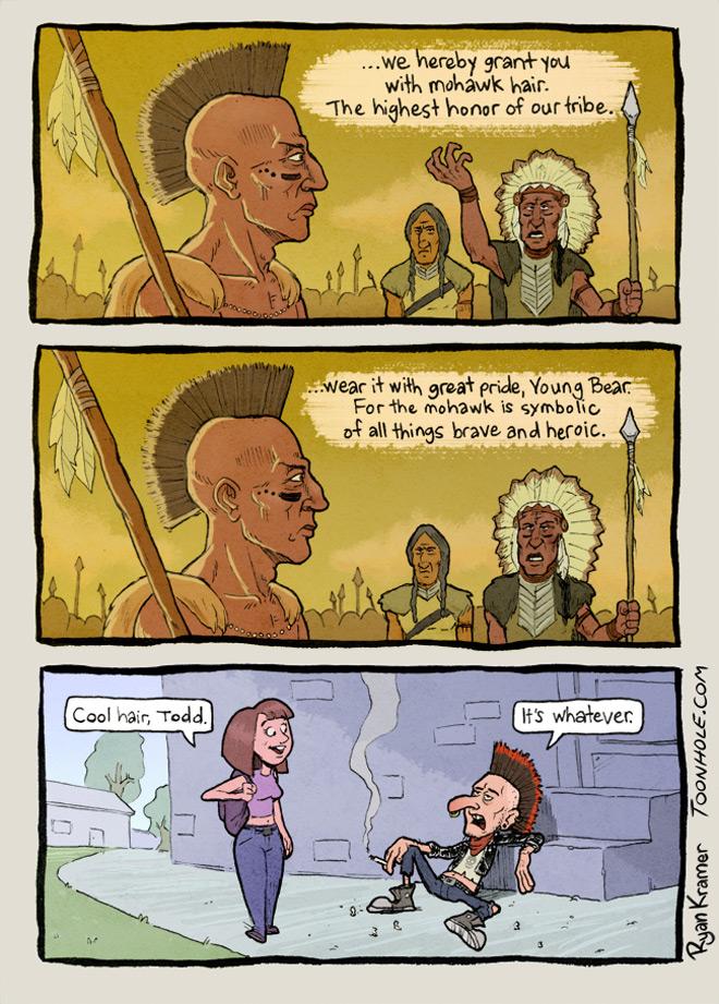 The Native Mohawk