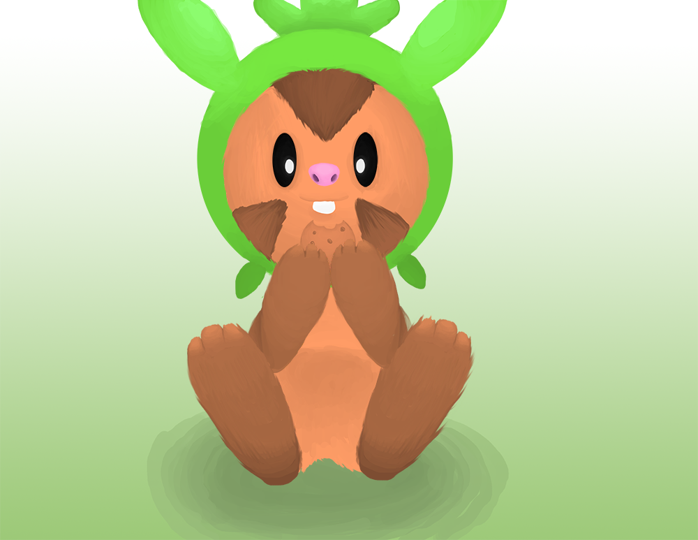 Chespin Likes Cookies