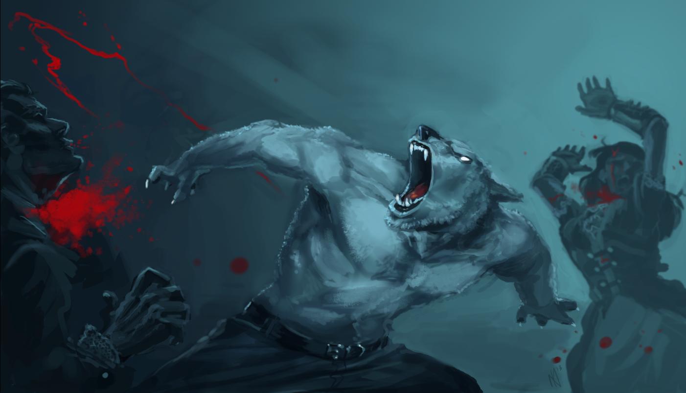 Werewolf attack!