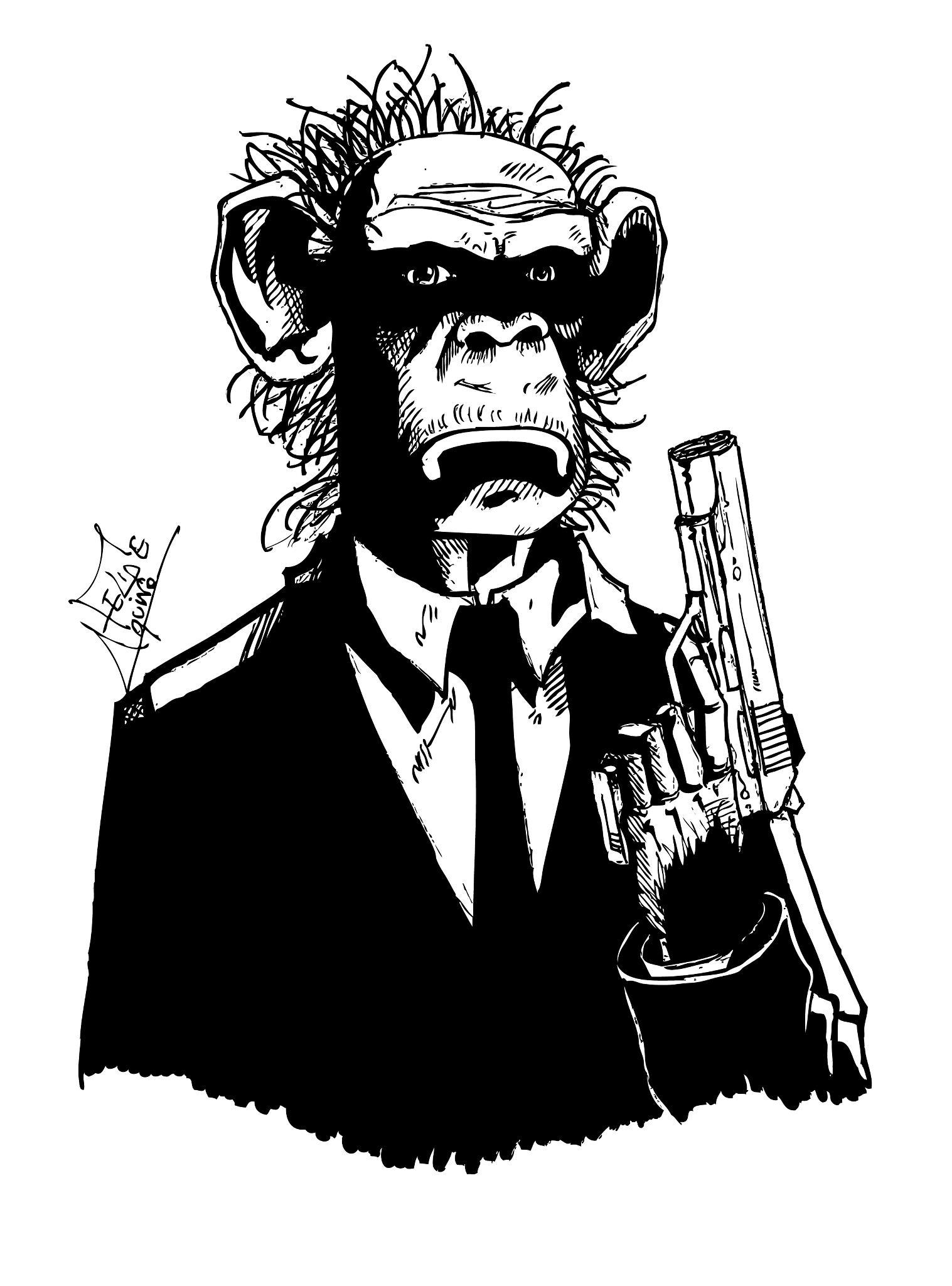 Black in Chimpanze