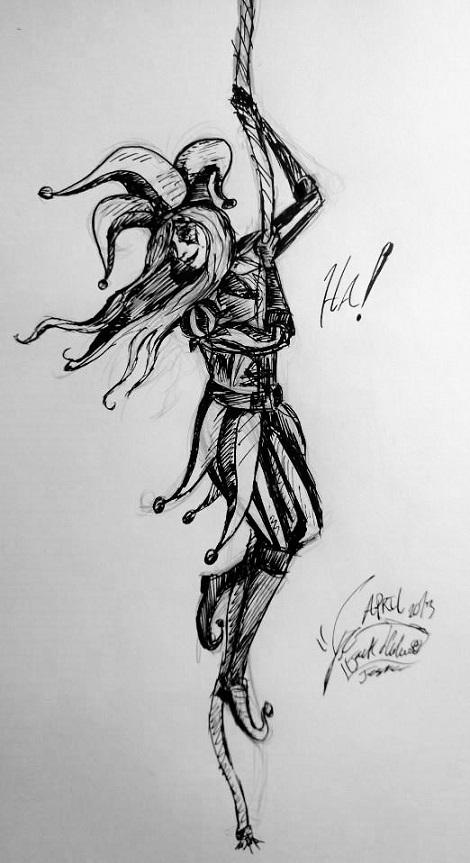 Hanging Jester