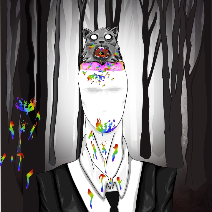 "Slender ""Nyan Cat"" Hat"