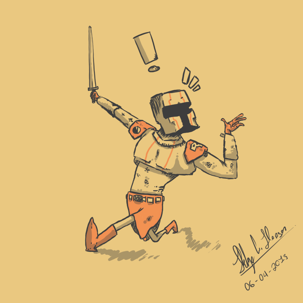 Doodle knight